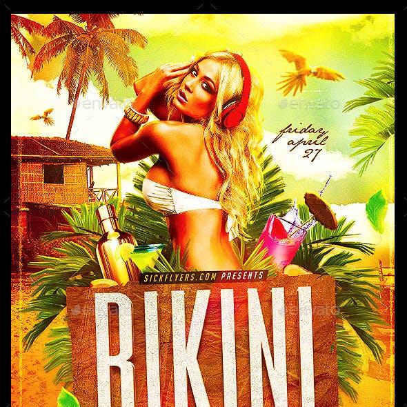 Bikini Party Flyer