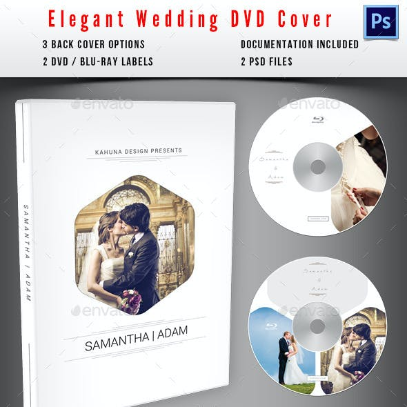 Wedding DVD / Blu-Ray Cover 04
