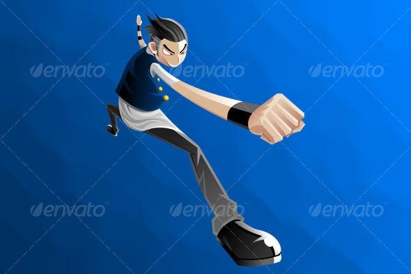 Fist cartoon - People Characters