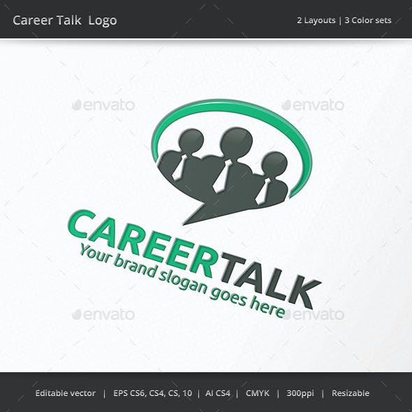 Career Talk Business Logo