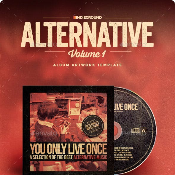 Alternative CD Album Artwork