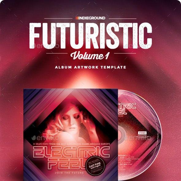 Futuristic CD Album Artwork