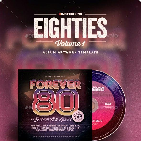 80s CD Album Artwork