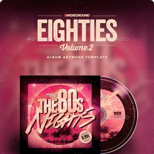 80s CD Album Artwork Vol. 2