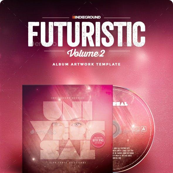 Futuristic CD Album Artwork Vol. 2