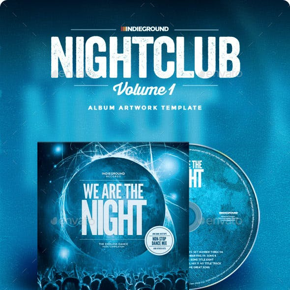 Nightclub CD Album Artwork