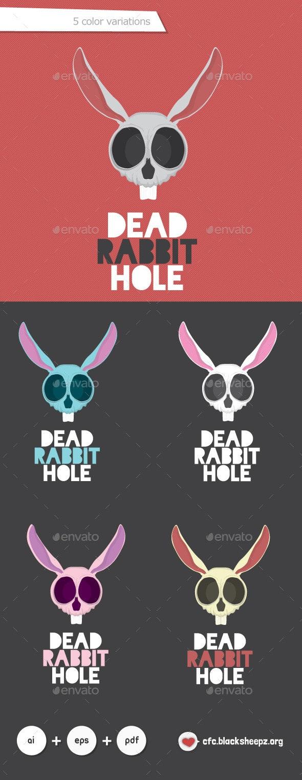Dead Rabbit Hole - Vector Abstract