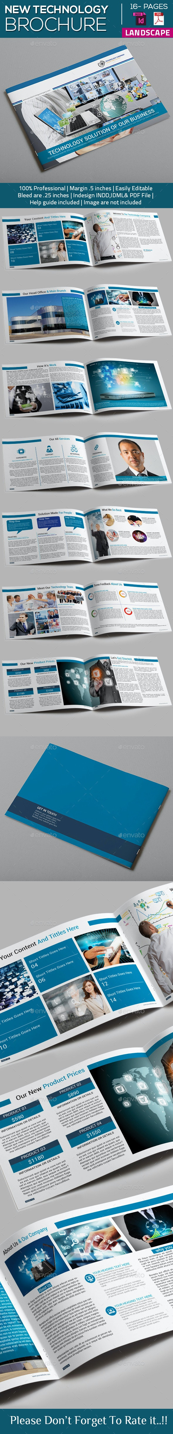 New Technology Brochure Catalog Templates - Catalogs Brochures