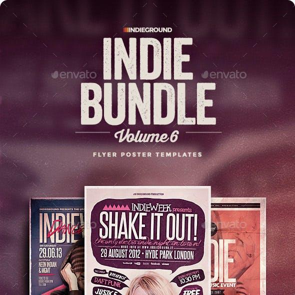 Indie Flyer/Poster Bundle Vol. 16-18