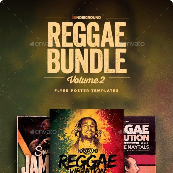 Reggae Flyer/Poster Bundle Vol. 4-6