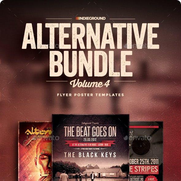 Alternative Flyer/Poster Bundle Vol. 10-12
