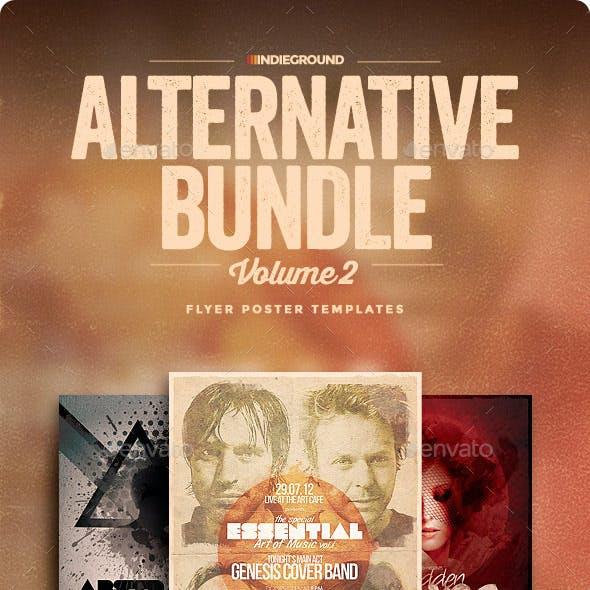 Alternative Flyer/Poster Bundle Vol. 4-6