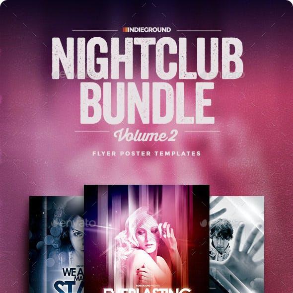Nightclub Flyer/Poster Bundle Vol. 4-6