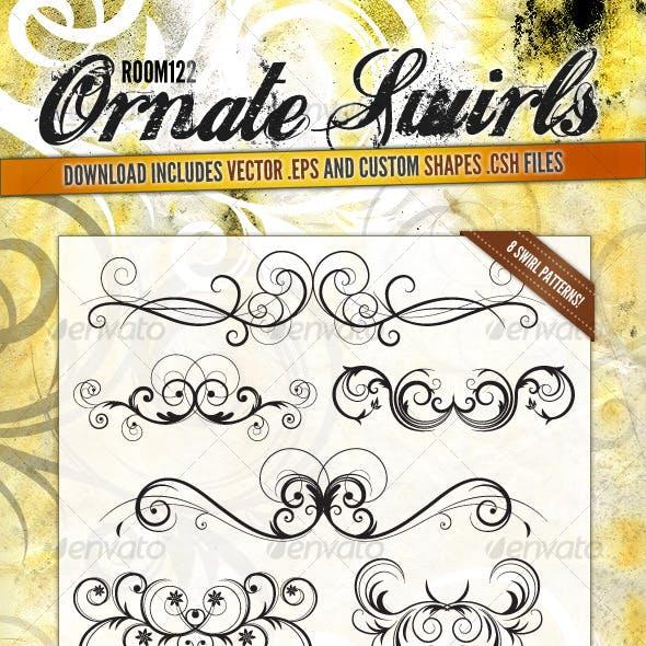 Ornate Vector Swirls
