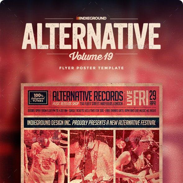Alternative Flyer/Poster Vol. 19