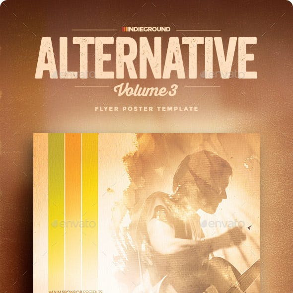 Alternative Flyer/Poster Vol. 3