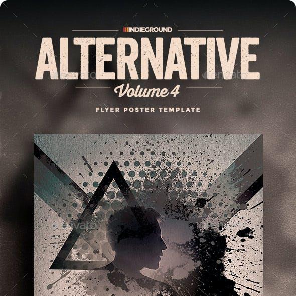 Alternative Flyer/Poster Vol. 4