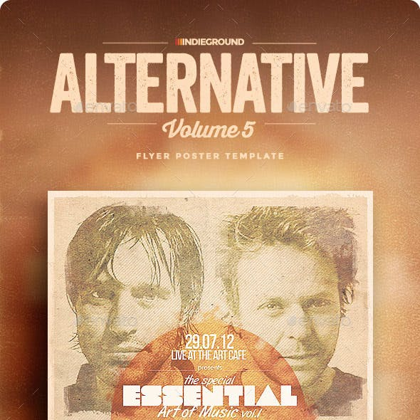 Alternative Flyer/Poster Vol. 5