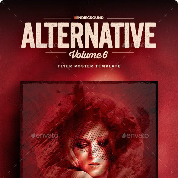 Alternative Flyer/Poster Vol. 6