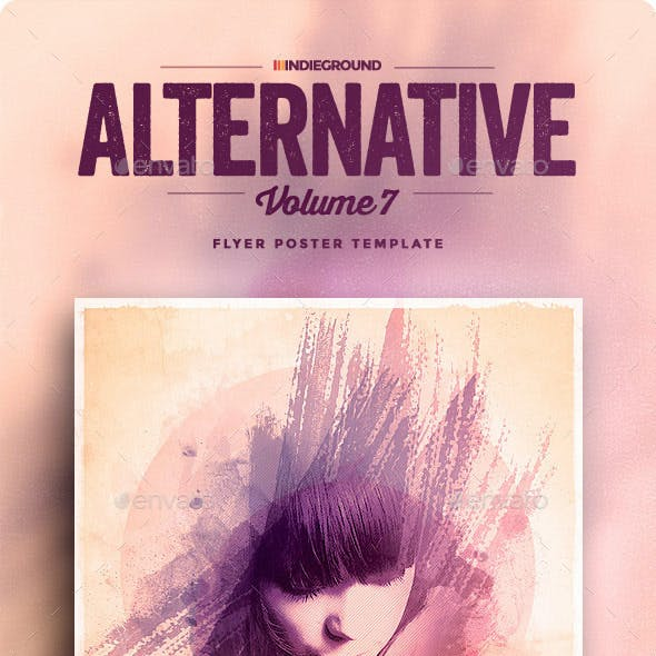 Alternative Flyer/Poster Vol. 7