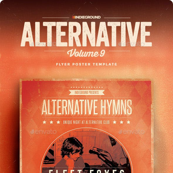 Alternative Flyer/Poster Vol. 9