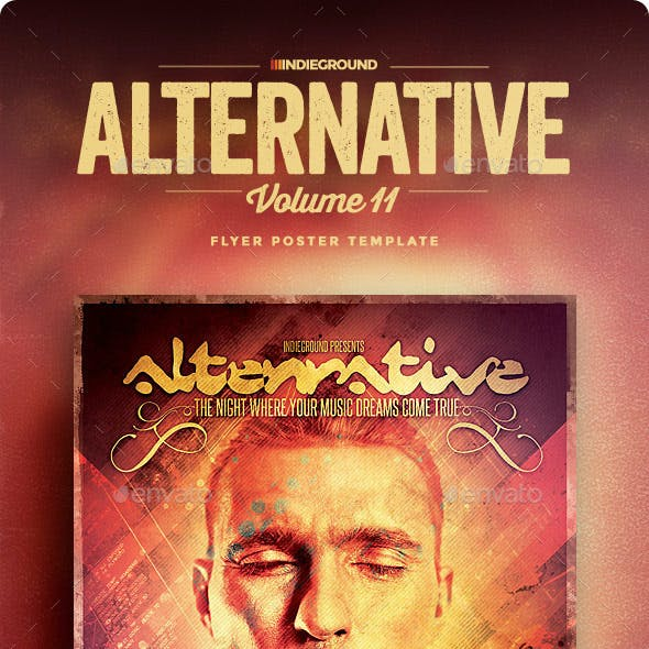 Alternative Flyer/Poster Vol. 11