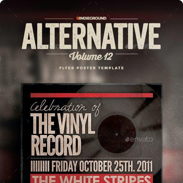 Alternative Flyer/Poster Vol. 12
