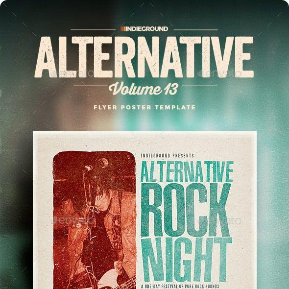 Alternative Flyer/Poster Vol. 13