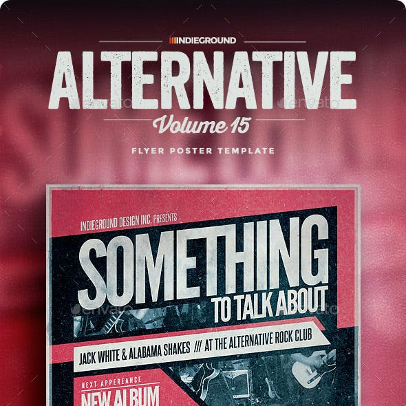 Alternative Flyer/Poster Vol. 15
