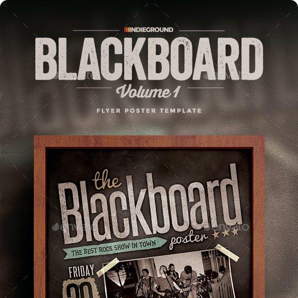 Blackboard Flyer/Poster