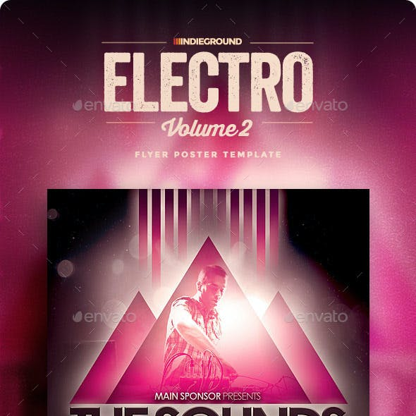 Electro Flyer/Poster Vol. 2