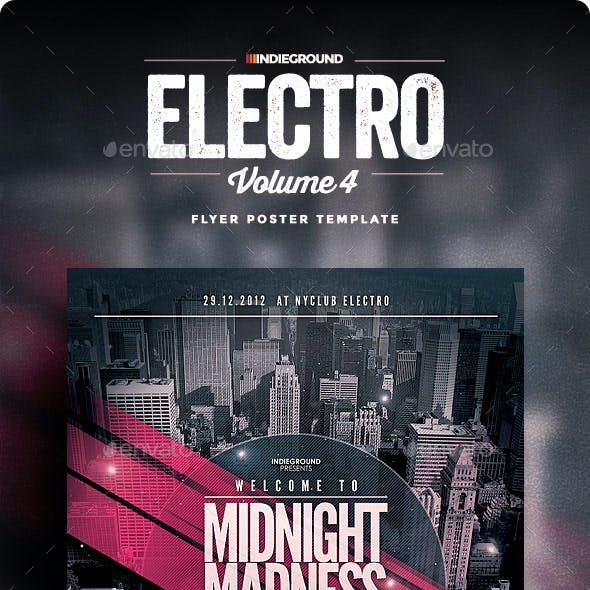 Electro Flyer/Poster Vol. 4
