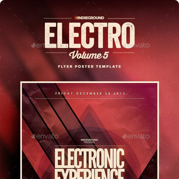 Electro Flyer/Poster Vol. 5