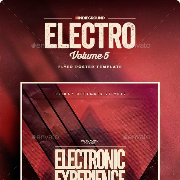 Electro Flyer/Poster Vol. 5