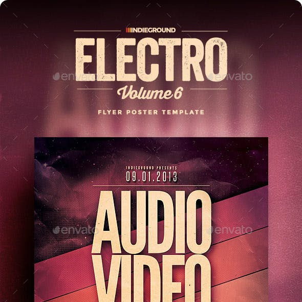Electro Flyer/Poster Vol. 6
