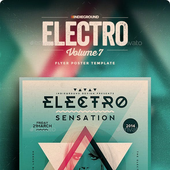 Electro Flyer/Poster Vol. 7