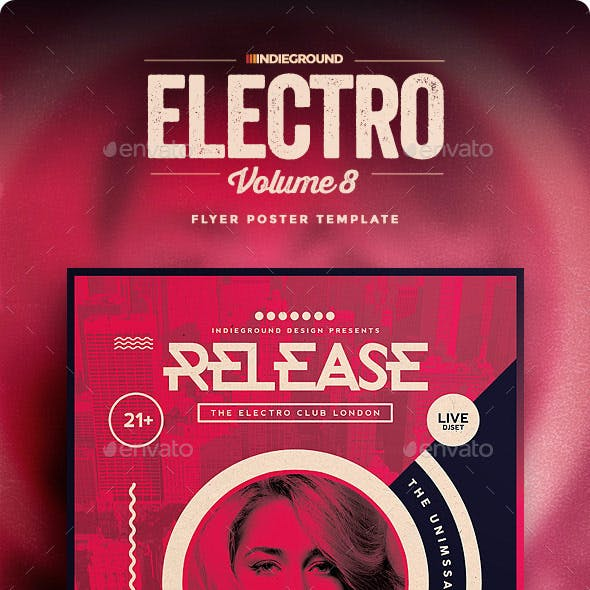 Electro Flyer/Poster Vol. 8
