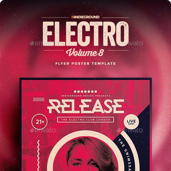 Electro Flyer/Poster Vol. 8