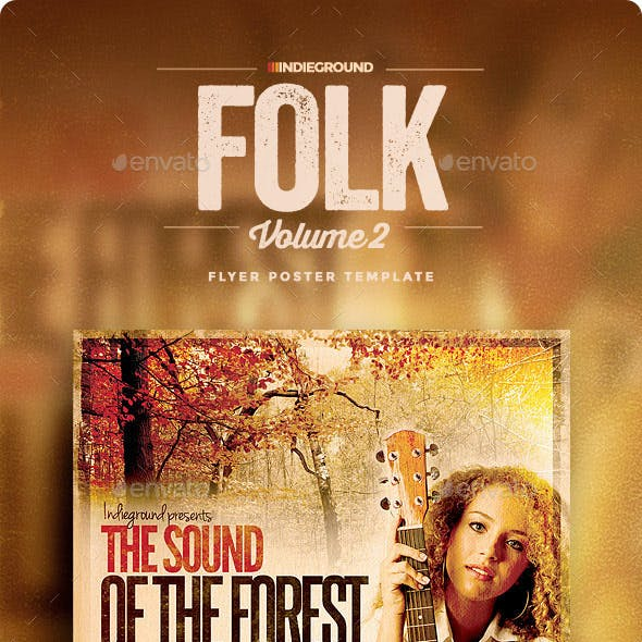 Folk Flyer/Poster Vol. 2