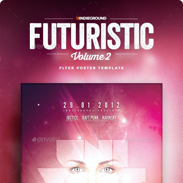 Futuristic Flyer/Poster Vol. 2