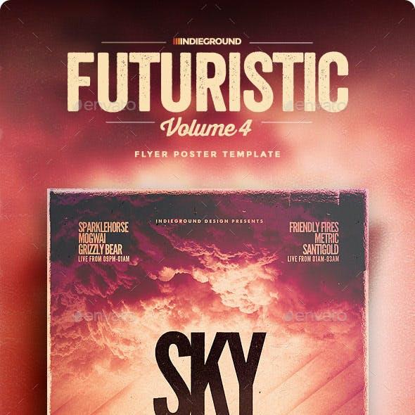 Futuristic Flyer/Poster Vol. 4