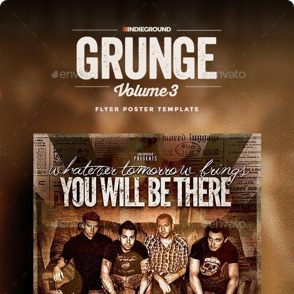Grunge Flyer/Poster Vol. 3