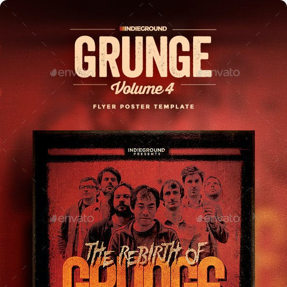 Grunge Flyer/Poster Vol. 4