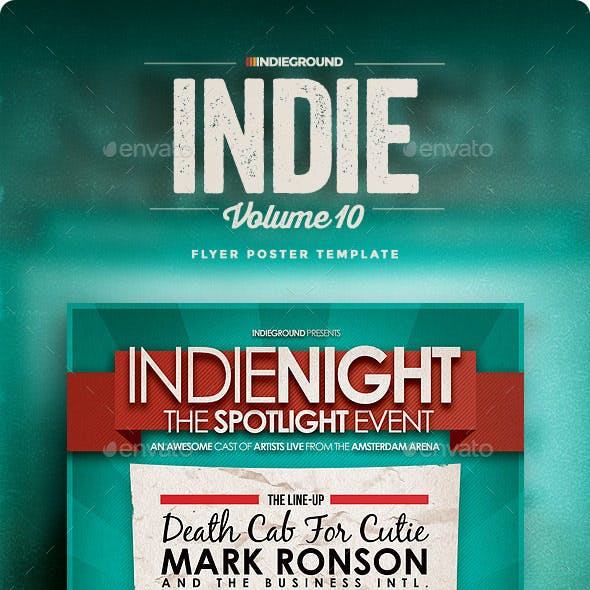 Indie Flyer/Poster Vol. 10