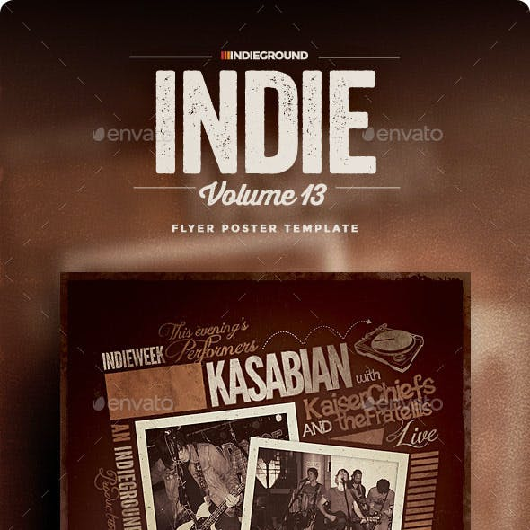 Indie Flyer/Poster Vol. 13