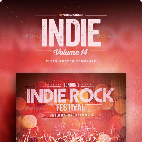 Indie Flyer/Poster Vol. 14