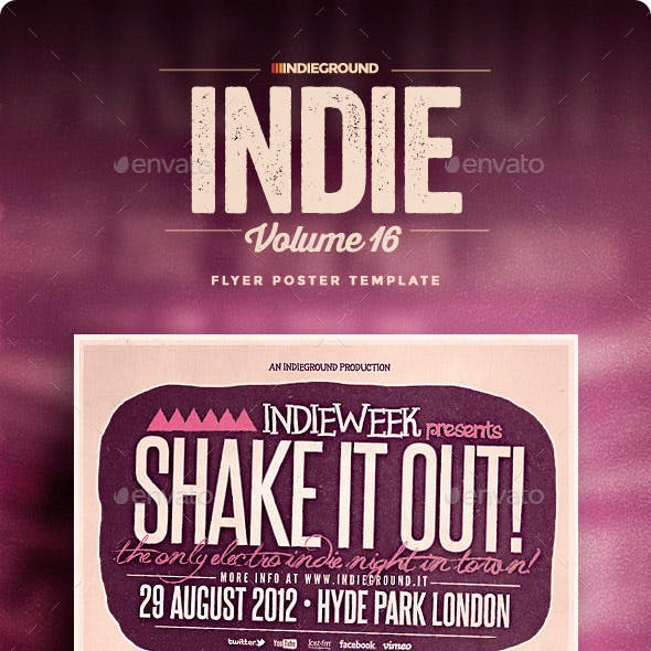 Indie Flyer/Poster Vol. 16
