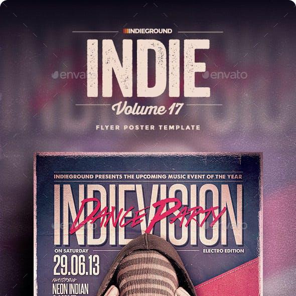 Indie Flyer/Poster Vol. 17