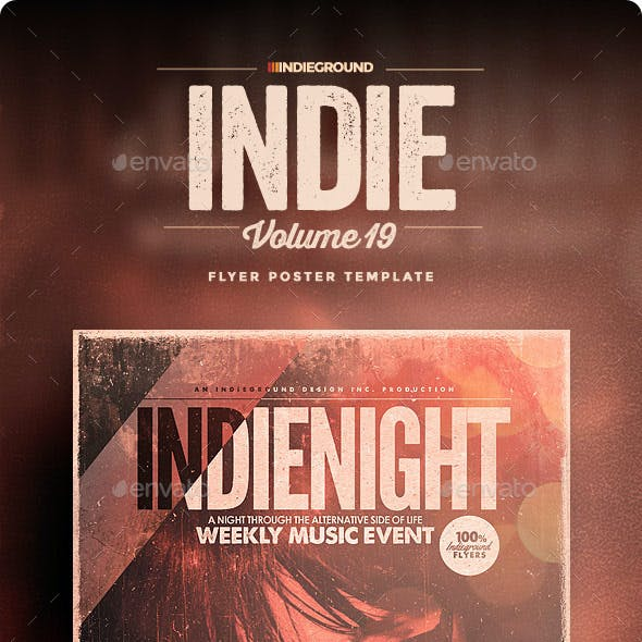 Indie Flyer/Poster Vol. 19