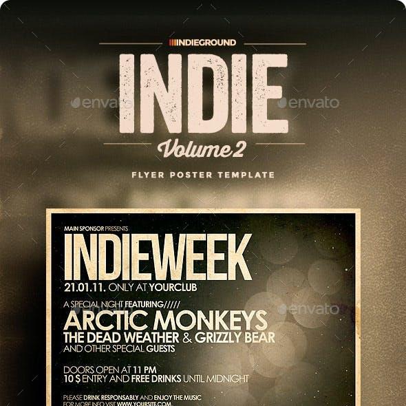 Indie Flyer/Poster Vol. 2